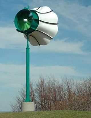 Turbina z dyfuzorem