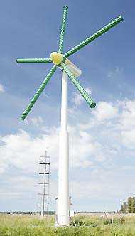 Turbina wykorzystująca efekt Magnusa