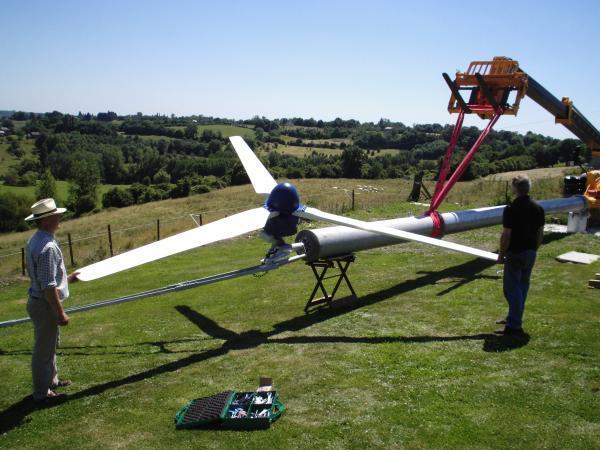 Montaż przydomowej turbiny wiatrowej