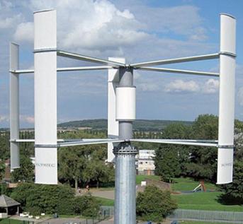 Turbina H-Darrieus